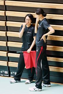 秋山美幸&杉山祥子@V-サマーリーグ2012 東部大会