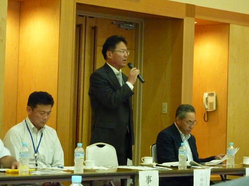 八ヶ岳観光圏整備推進協議会総会 小林代表