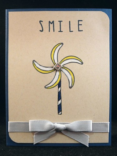 Pinwheel Smile Card