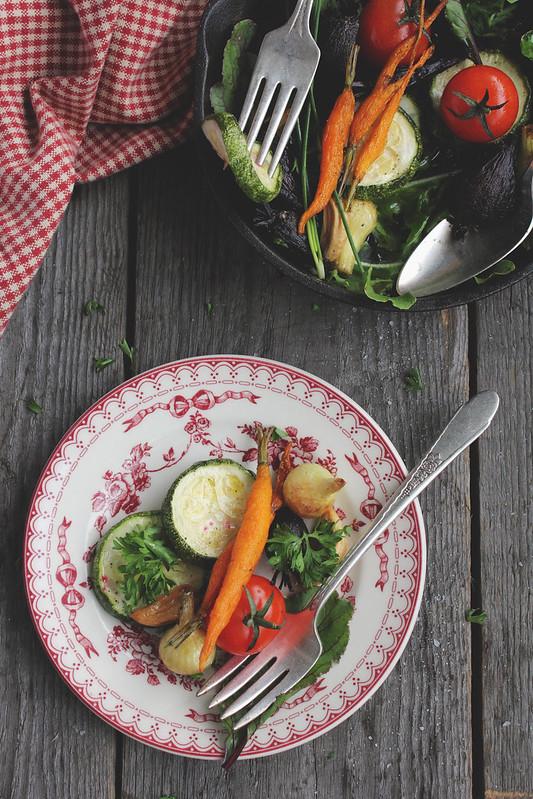 Baked Summer Vegetables