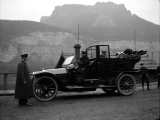 På bilferie i Tyskland (ca. 1910)
