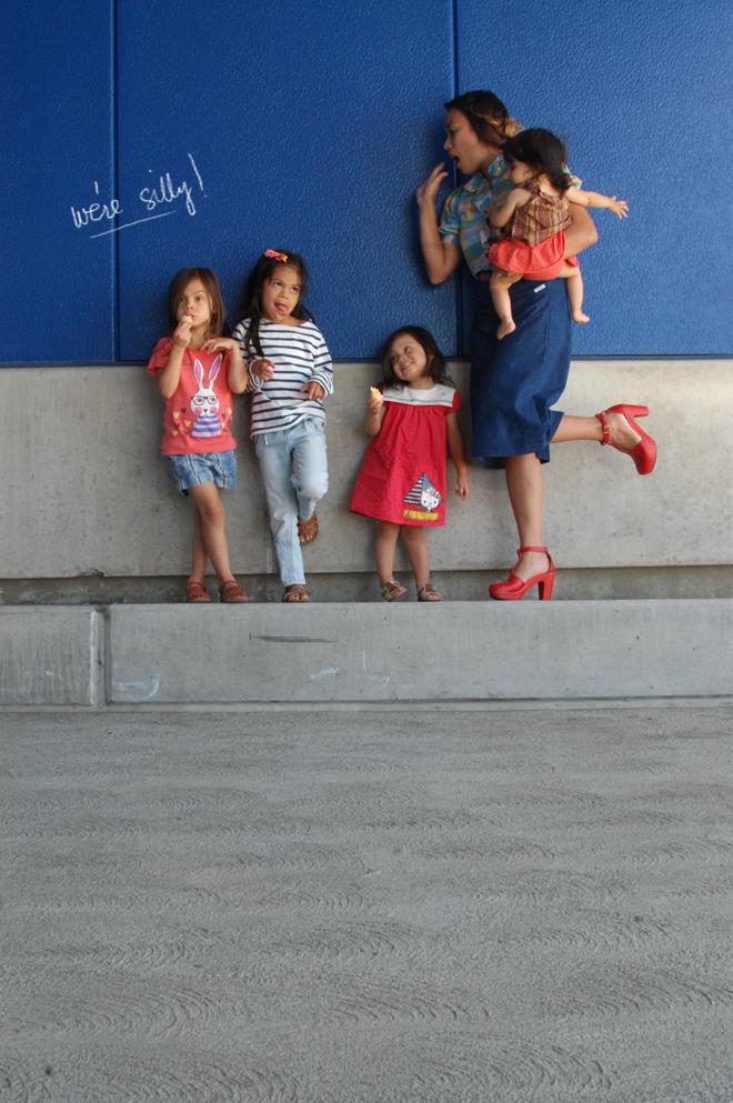 my little ladies