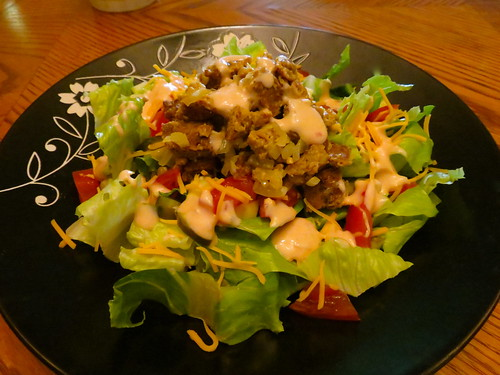 In-N-Outrageous Animal-Style Salad