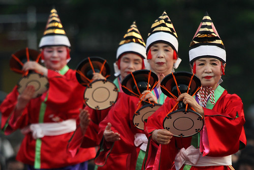 Bon Odori japanese festival in Penang - Malaysia