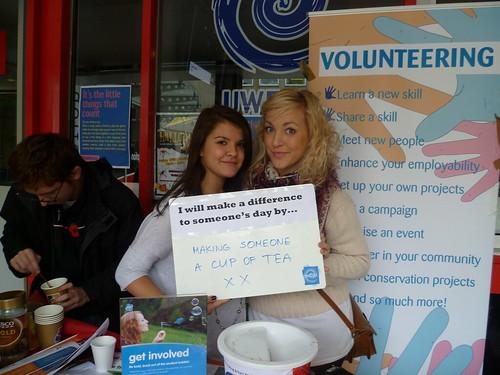 Student volunteering week