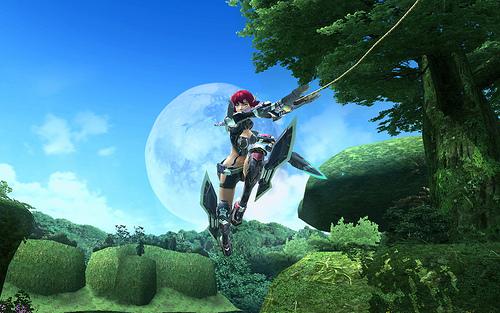 Phantasy Star Online 2 F2P On The PS Vita In Japan