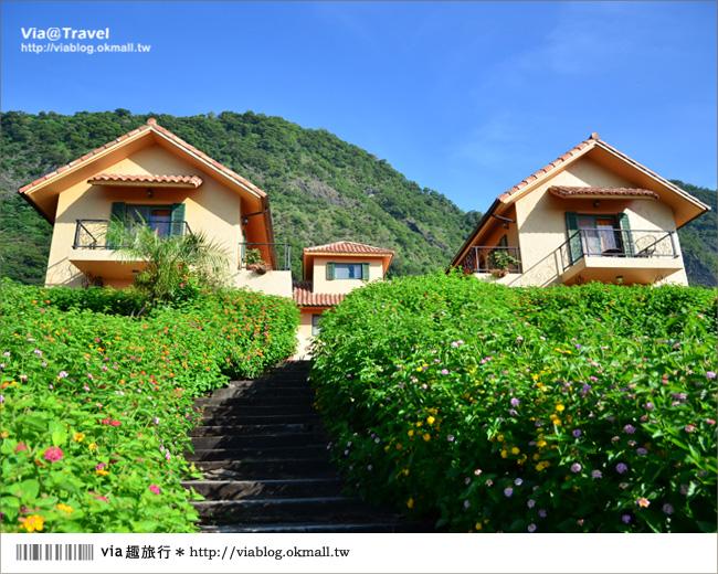 【台東民宿】台東願井民宿~在藍天下遇到南法風的浪漫莊園6