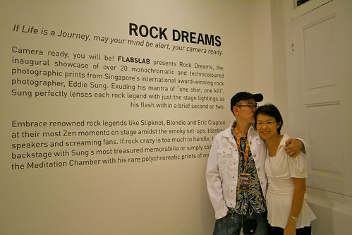 Solo Exhibition by Eddie Sung's Rock Dream