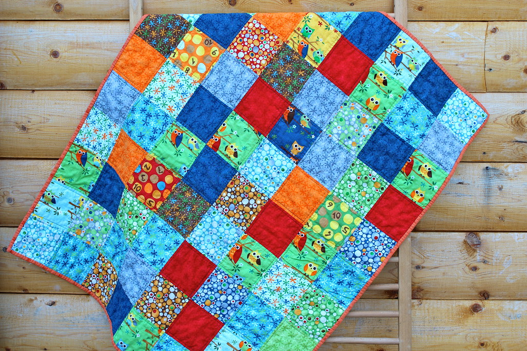 Ten Little Things Baby Quilt