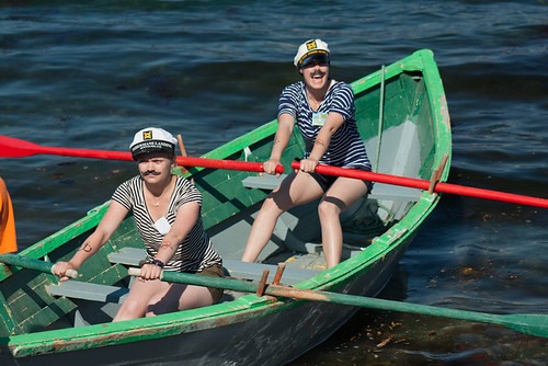 Galliott Studio Girls at the Woody Point Regatta