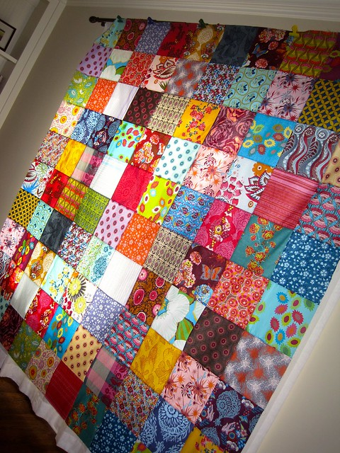 MY AMH quilt top is done!