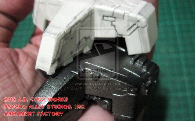 Custom Metal Gear REX by Armament Factory – W.I.P. Part 1