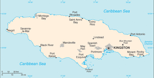 jamaica-map