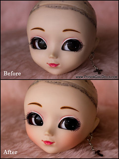 ~ Partial cheeks face-up Pullip Fanatica Original for Telarañ@ ~