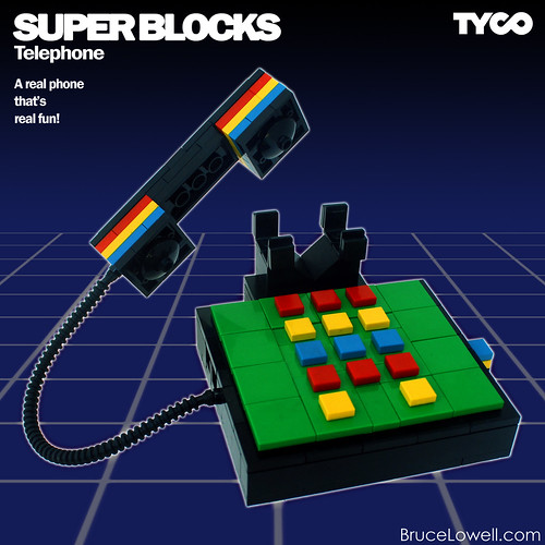 LEGO Super Blocks Telephone