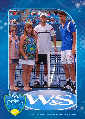 2012 Western & Southern Open Coin Toss -- Andreas Seppi v Robin Haase, 08/13
