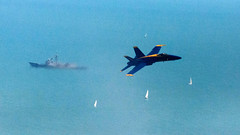 Chicago Air and Water Show 2012 - practice Friday August 17th by doug.siefken