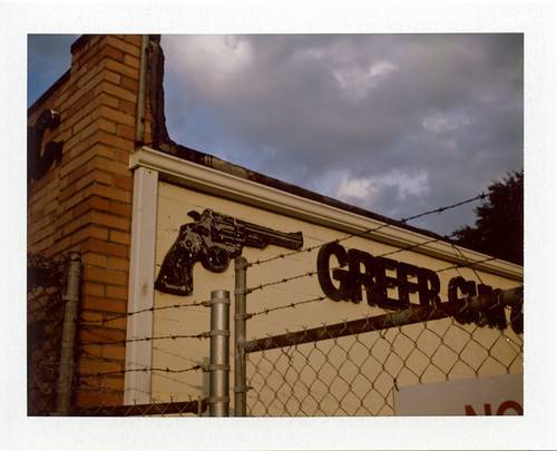 PolaroidWeek Bonus: Greer Gun and Pawn