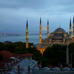 The Blue mosque in Istanbul,