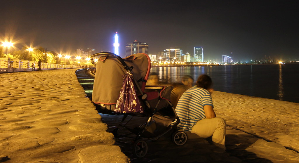 Family time on the Corniche