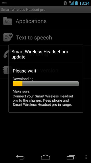 Sony MW1 Smart Wireless Headset Pro - Firmware Upgrade