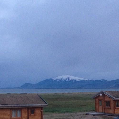Desde mi ventana: amanece en Snæfell #iceland #islandia #tripiniceland #volcano #volcan #frommywindow