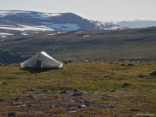 Camp near Meahccevárri
