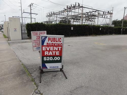 $20 Event Parking