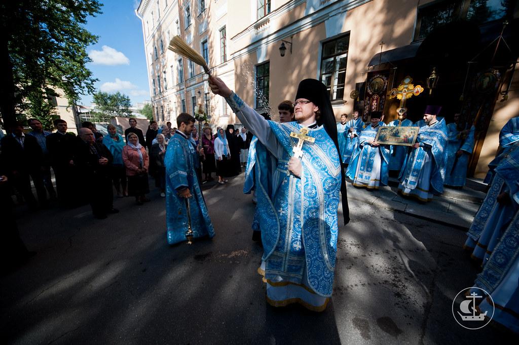 28 августа 2012, Божественная Литургия в праздник Успения Пресвятой Богородицы