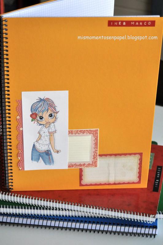 libretas para el colegio hechas a mano