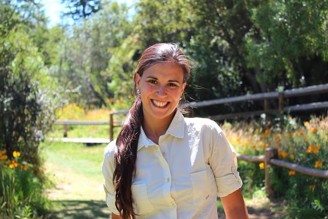 Lucila en la Patagonia