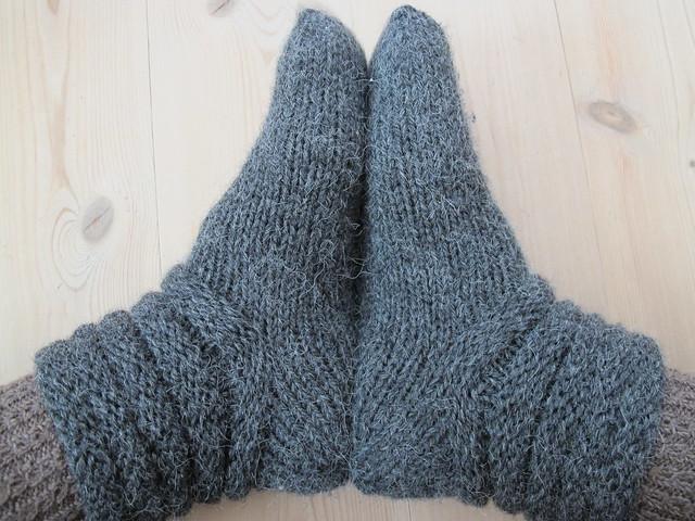 Para el fr o calcetines de lana o calcetines t rmicos - Como hacer talon de calcetines de lana ...
