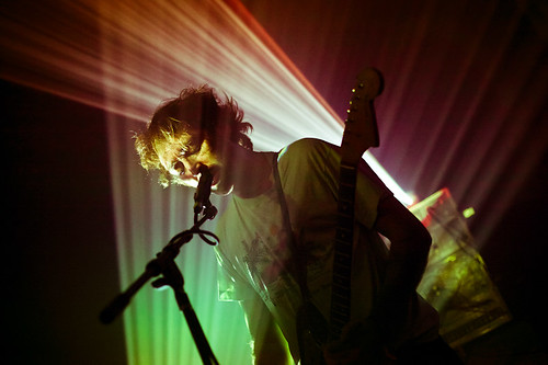 A PLACE TO BURY STRANGERS (Oliver Ackermann) @The Troubadour