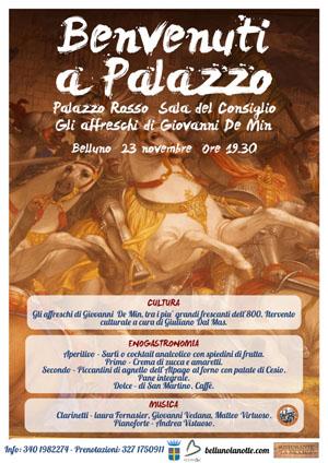 """Manifesto di """"Benvenuti a Palazzo"""""""
