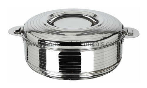 Insulated Food Warmers ~ Hot pot silver line insulated food warmer casserole