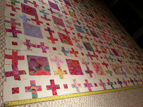 row1 sewn together: 100