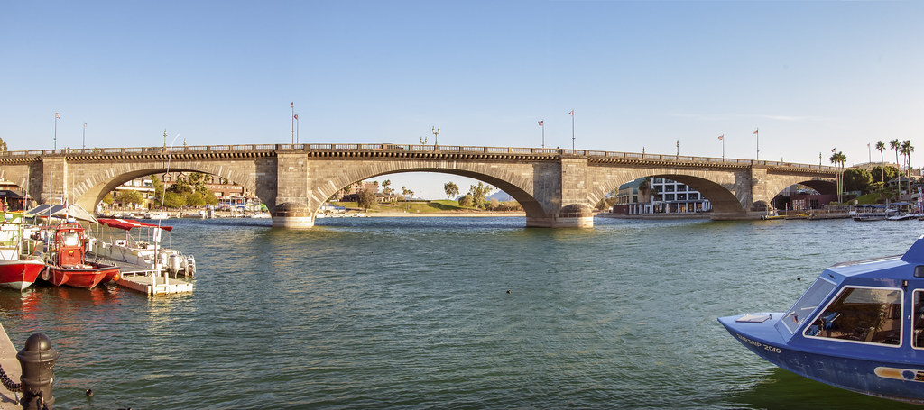 London Bridge Lake Havasu City, Arizona. Feb. 2014