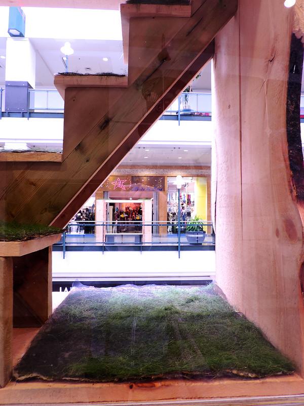 Geneviève Gasse, Espace vert, Art souterrain 2014, Montréal.