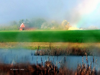Hey Man, We Have Here a Barn, a Marsh and a Rainbow with Like Some Way Weird Processing, Ya Know? ~ EXPLORED