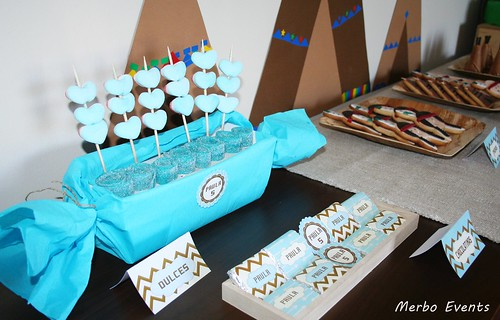 Detalle Dulces Sweet table Pocahontas  Merbo Events