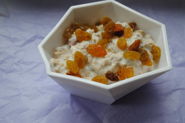 Morning Muesli with Golden Raisins & Almonds