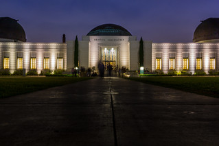 Night at the Griffith Observatory