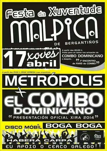 Malpica 2014 - Festa da Xuventude - cartel