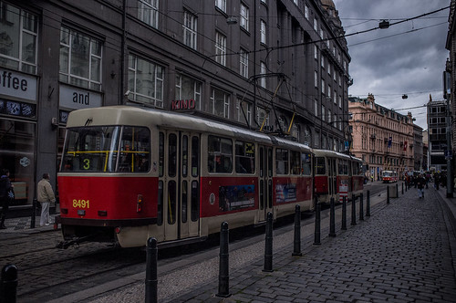 Trams of Prague. (106/365)