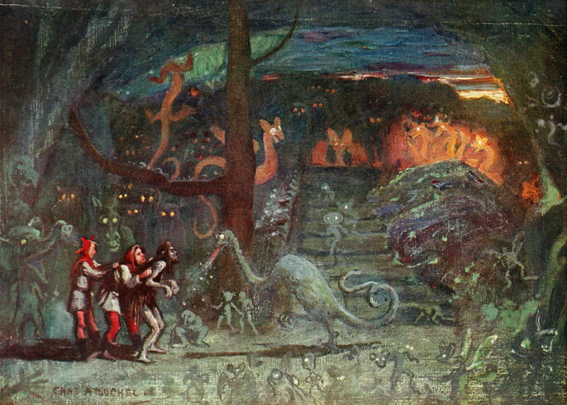 "Charles A. Buchel - Shakespeare's Comedy ""The Tempest"" as arranged for the stage by Herbert Beerbohm Tree, 1904"