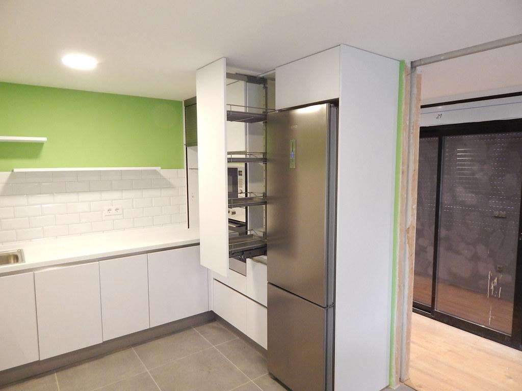 Muebles de cocina modelo laser blanco polar - Muebles de cocina blanco ...
