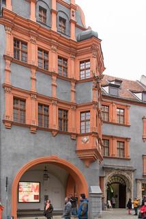 Schönhof (Schlesisches Museum) an der Brüderstraße