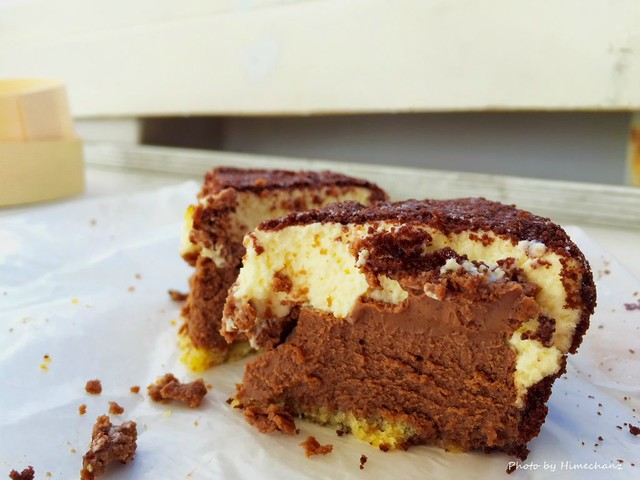 船上でフラノデリスのケーキ、いただきました♪