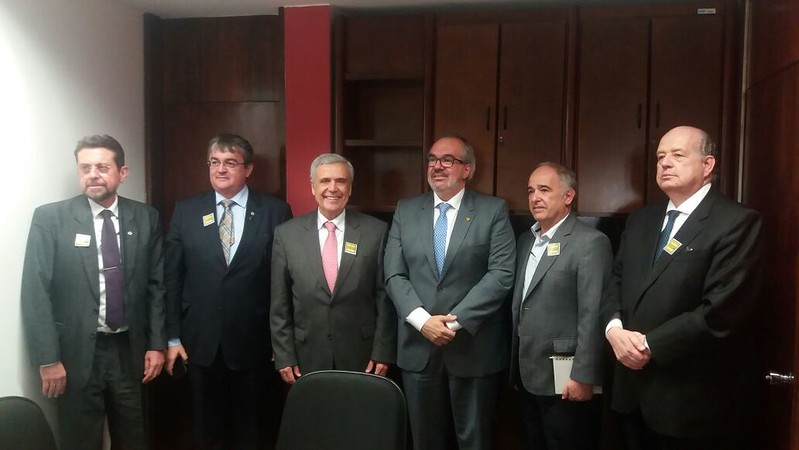 WWC President assembles with Brazilian Senators in Brasilia