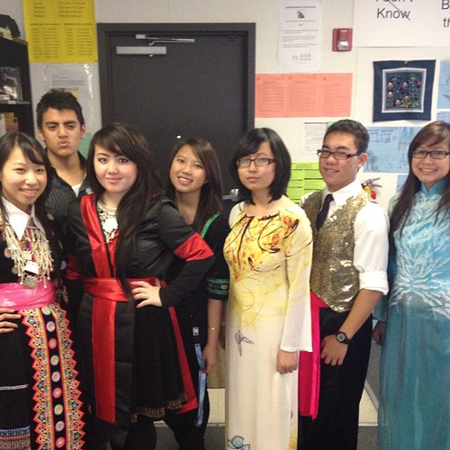 Multicultural day at school